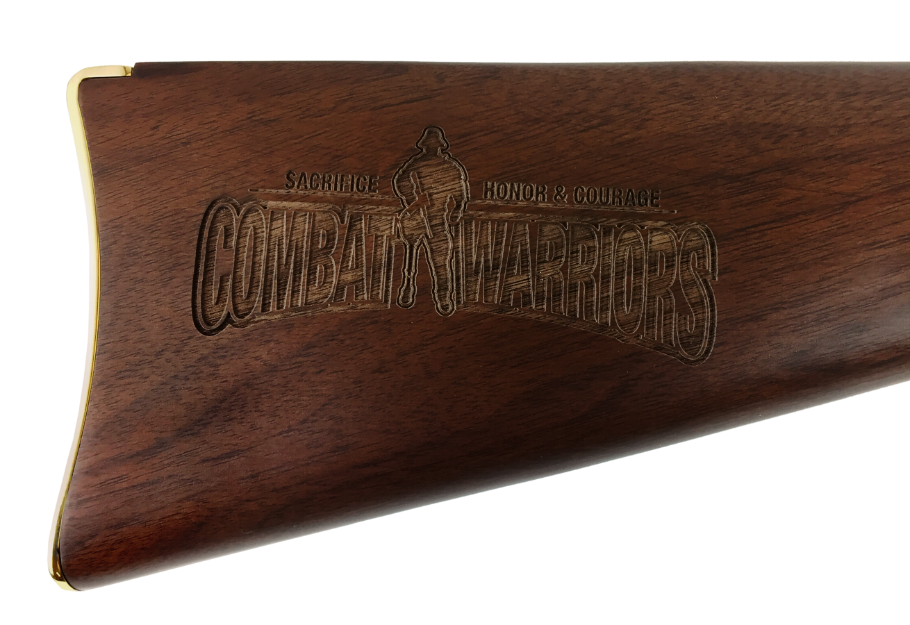 Engraved Rifle