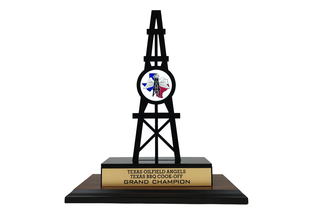 Custom Laser Cut Trophy