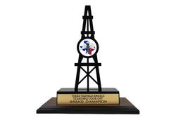 Custom Laser Cut Trophy