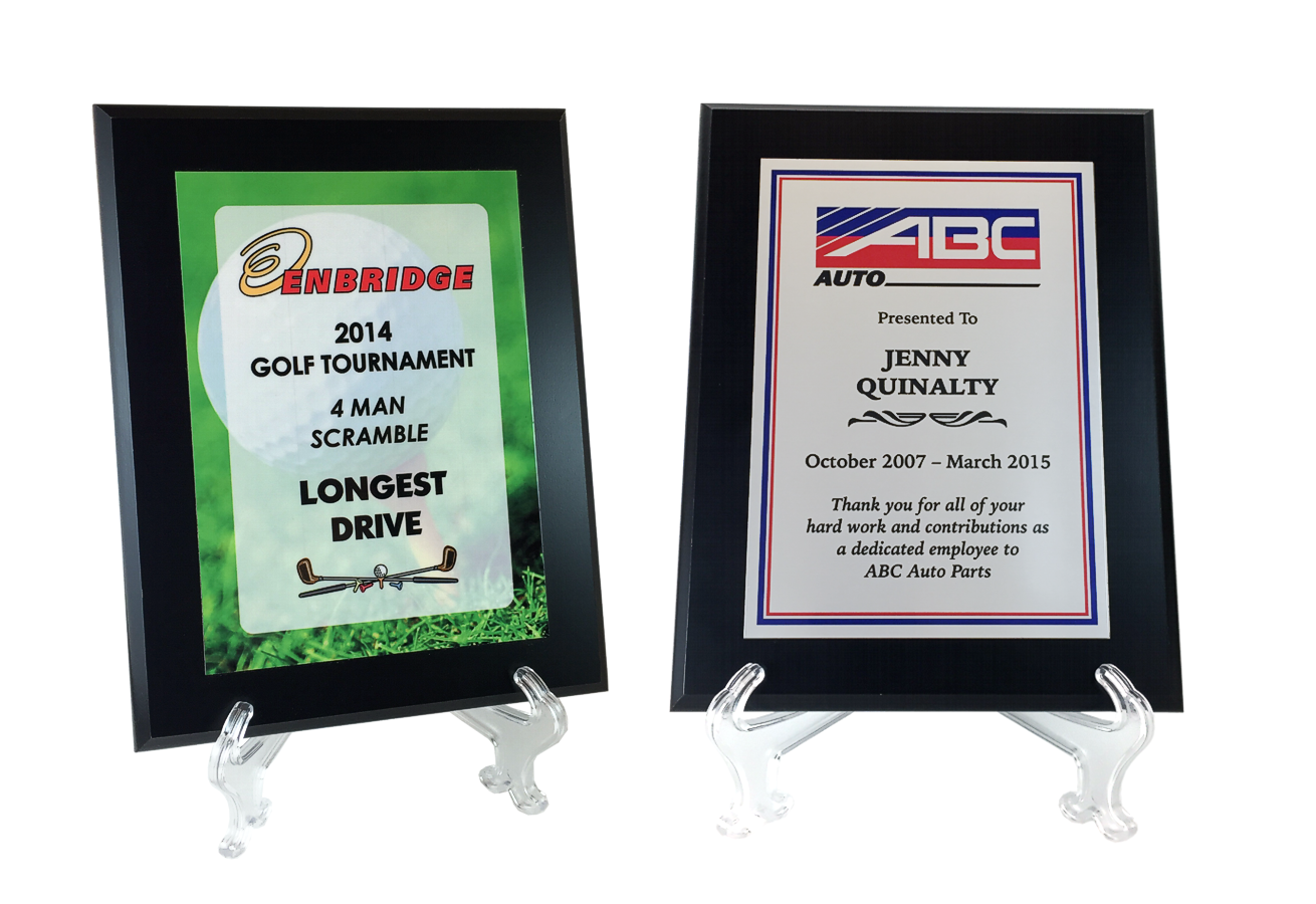 Color Sublimated Plaques