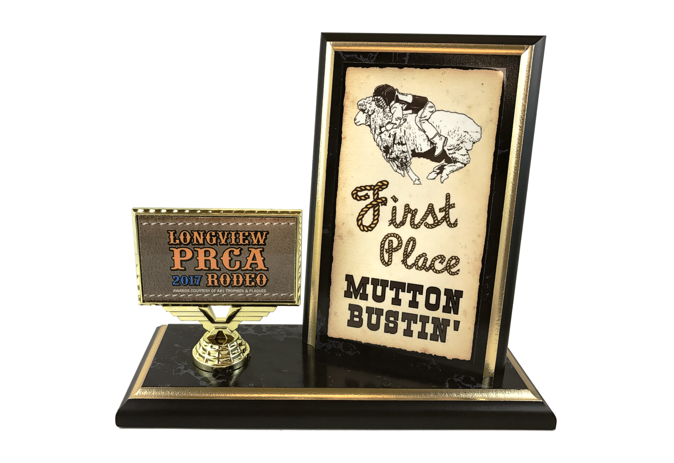 Color Sublimated Plaque Trophy