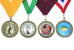 Color Sublimated Medals