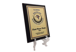 Color Sublimated Boosters Plaque