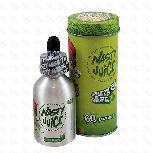 Nasty Green Ape 50ml Short Fill