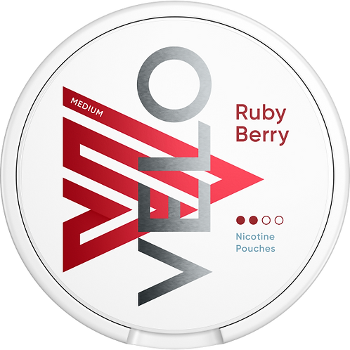 VELO Ruby Berry 20 Pouches 6mg