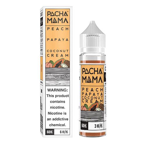 50ml Short Fill Pacha Mama Peach, Papaya, Coconut Cream