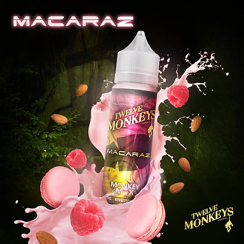 12 Monkeys Macaraz 50ml Short Fill