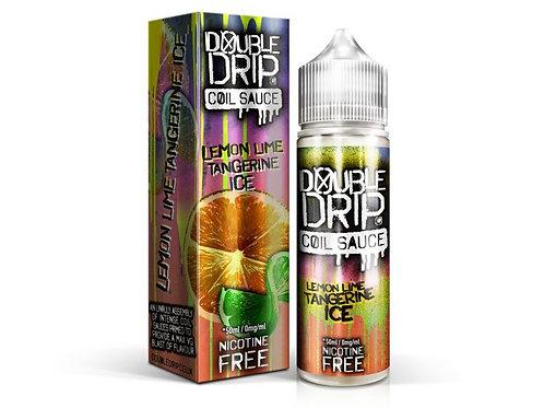 Double Drip Lemon Lime Tangerine Ice Short Fill E-Liquid 50ml