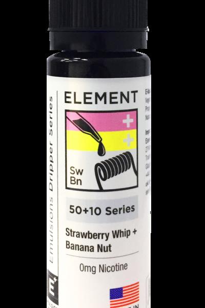 Elements Strawberry Whip & Banana Nut 50ml S/F