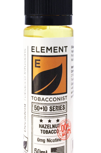 Elements Tobacco Hazelnut 50ml S/F