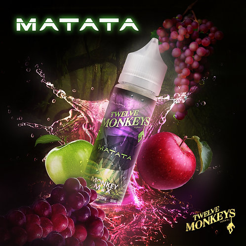 12 Monkeys Matata 50ml Short Fill