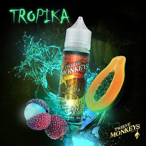 12 Monkeys Tropika 50ml Short Fill