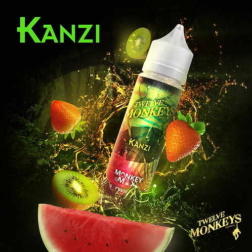 12 Monkeys Kanzi 50ml Short Fill