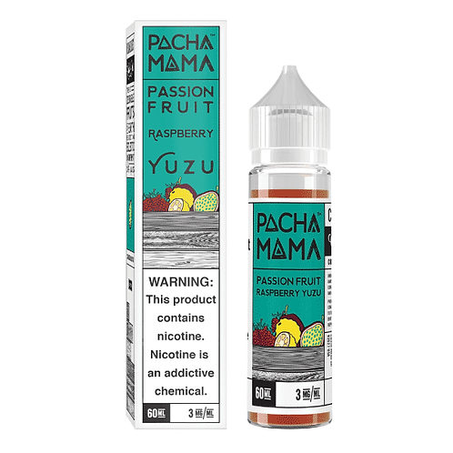 50ml Short Fill Pacha Mama Passion Fruit, Raspberry, Yuzu
