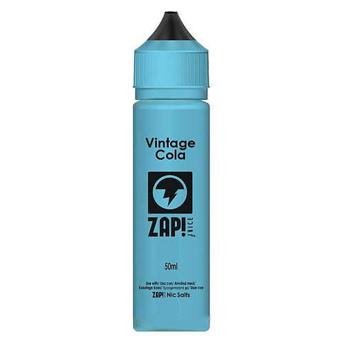 ZAP Vintage Cola 50ml Short Fill