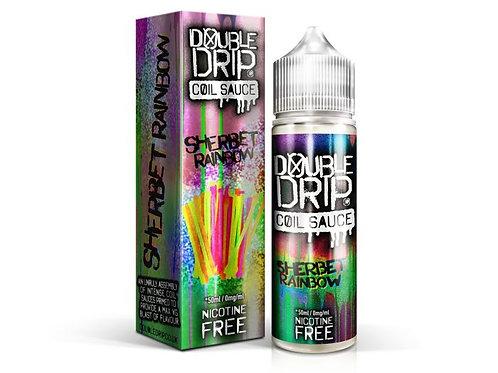 Double Drip Sherbet Rainbow Short Fill E-Liquid 50ml