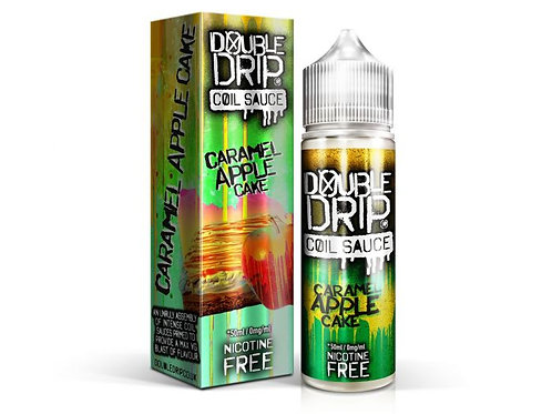 Double Drip Caramel Apple Cake Short Fill E-Liquid 50ml