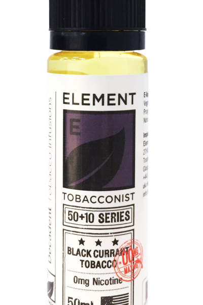 Elements Blackcurrant Tobacco 50ml S/F