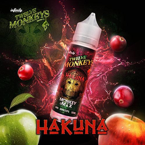 12 Monkeys Hakuna 50ml Short Fill