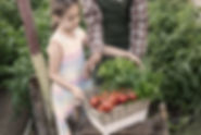 Child Carrying Vegetables