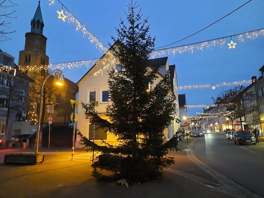 Die Weihnachtsbeleuchtung 2020 in Schötmar, Bad Salzuflen