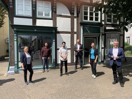 Eröffnung des Quartiersbüros in Schötmar