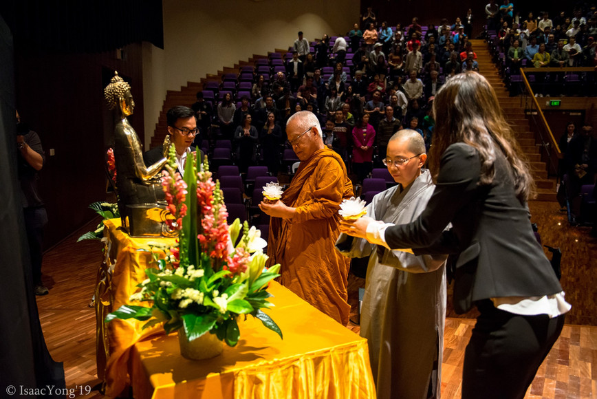 Lighting ceremony