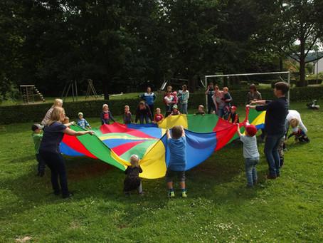 Sommerfest der Kinderturngruppen
