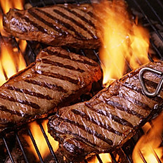 Char Grilled 28-day matured steaks