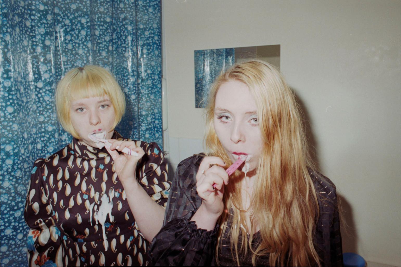 Simone and Eilidh