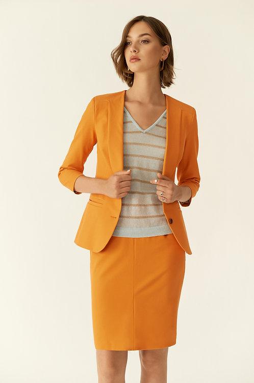 Burvin юбка оранжевая 6862