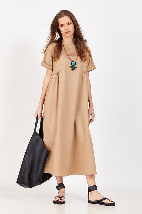 Favorini Платье беж / черн 31551