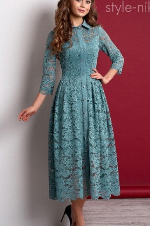 Платье Бирюза Нурсаче