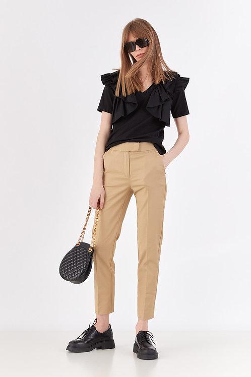 Lakbi блуза черная / белая 52134