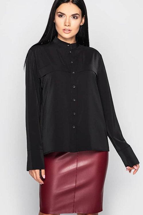 Hladush черная рубашка