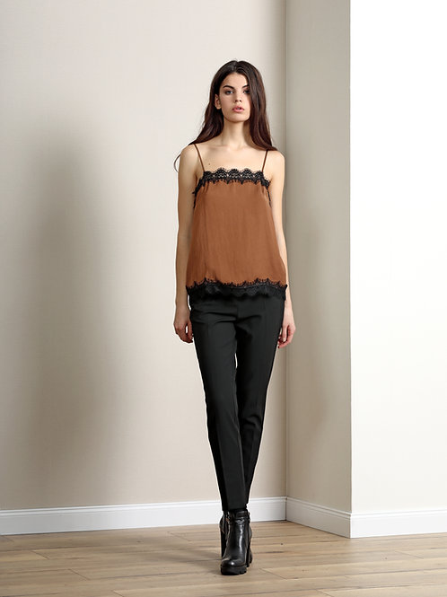 Burvin Блуза черная 6298