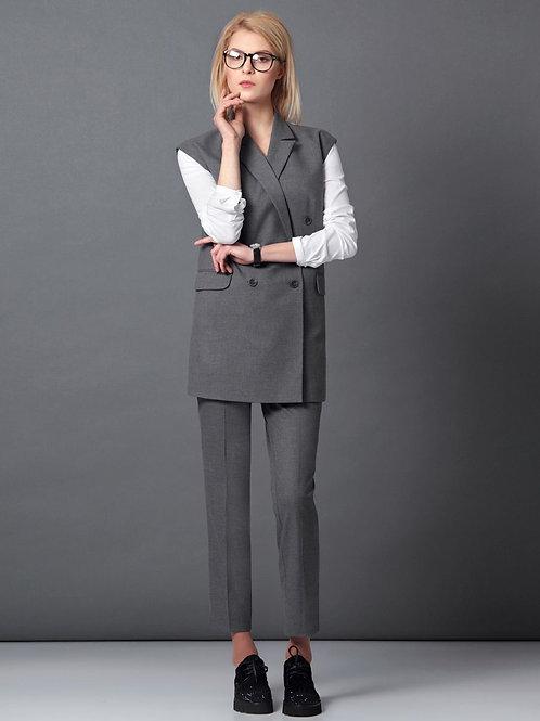 Burvin брюки серые 4740