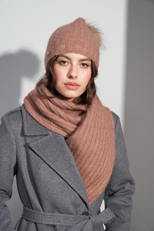 Burvin шарф хомут пудра 7162