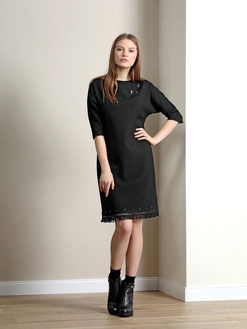 Burvin Платье серое 5879