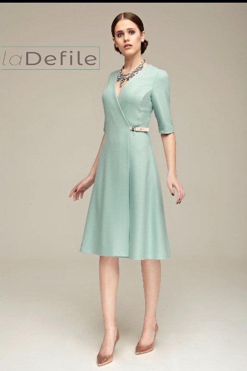 Burvin Платье фиолетовое 4173