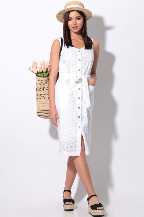 Платье белое 11-20