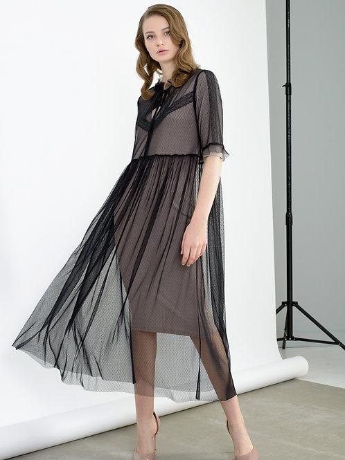 Burvin комплект платье с туникой 6655