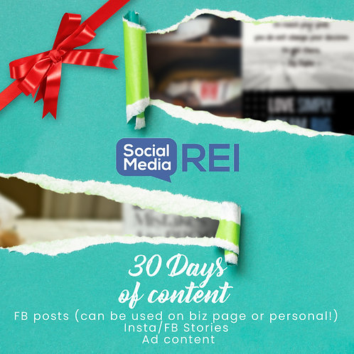 30 Days of Content Downloadables