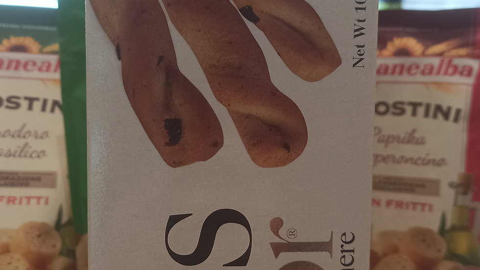 Black olives breadsticks