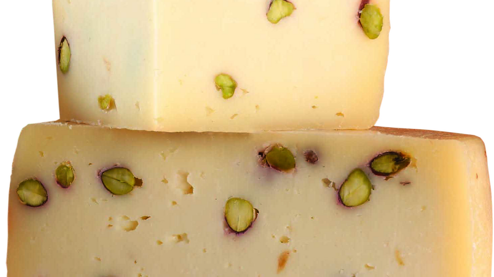 Pecorino with pistachios