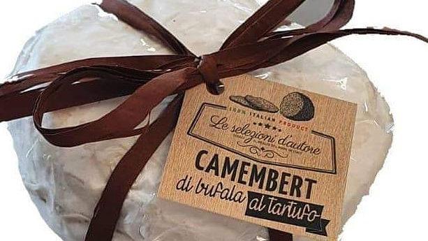 Buffalo camembert with truffle