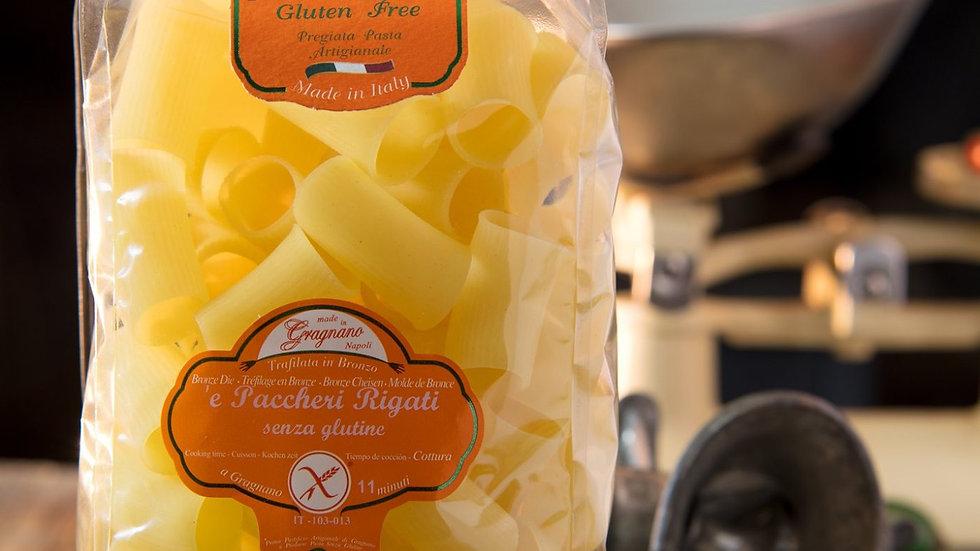 Gluten Free Striped Paccheri PGI