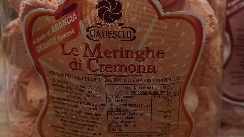 Vanilla and orange Meringues