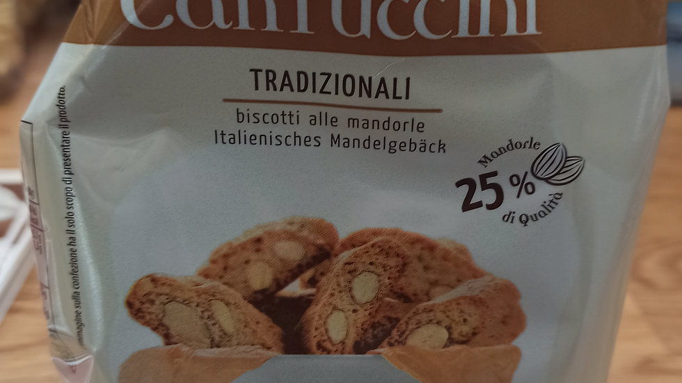 Traditional cantuccini 250gr