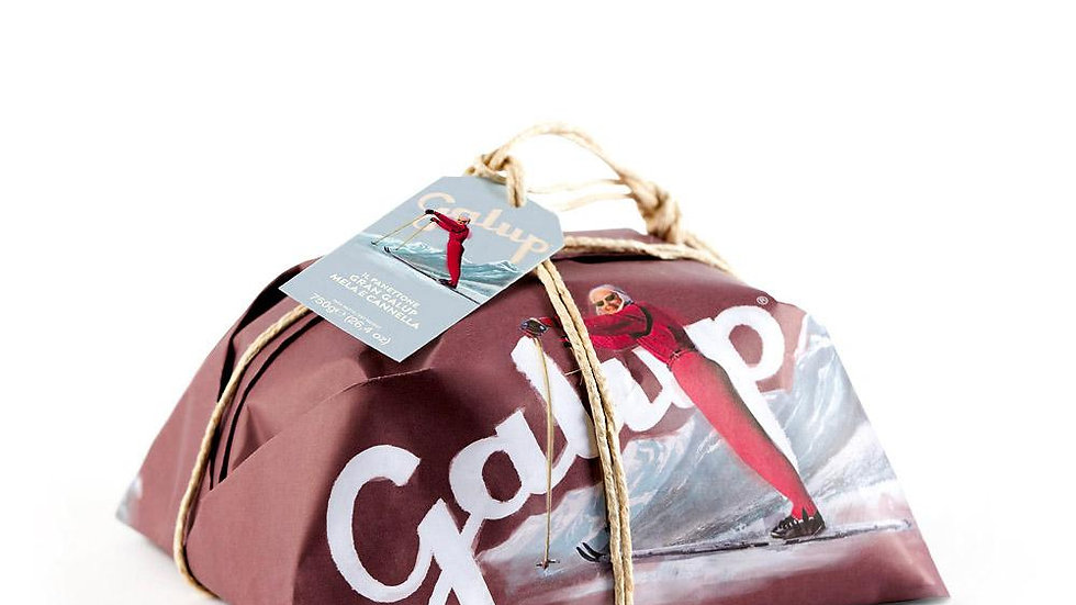 Galup Grand traditional panettone with cinnamon and apple